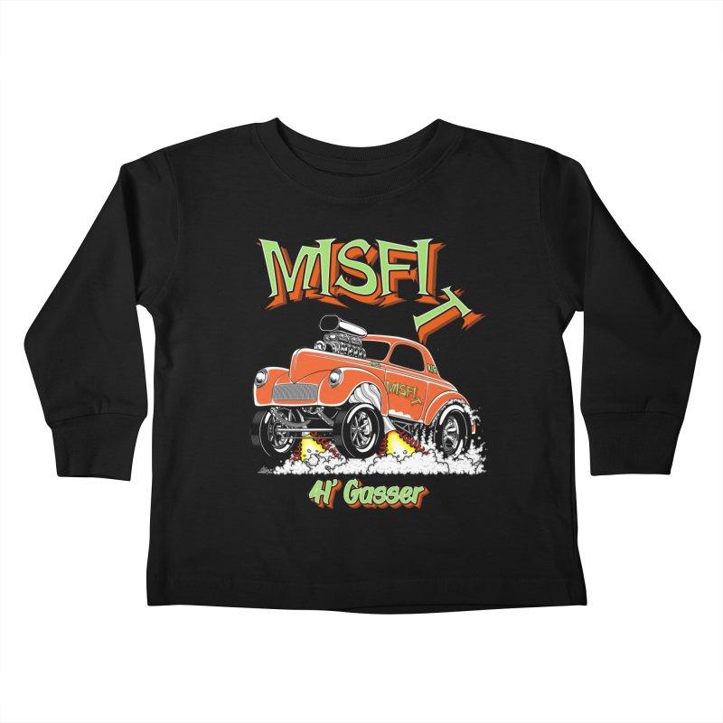 41 Gasser for Hal Kids Toddler Longsleeve T-Shirt by screamnjimmy's Artist Shop