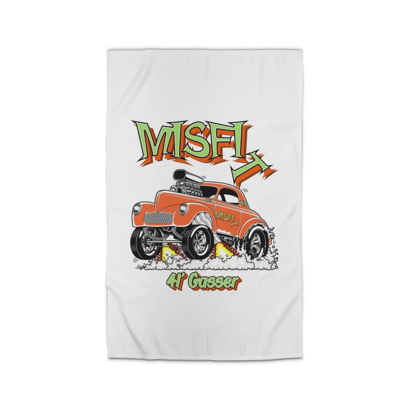 41 Gasser for Hal Home Rug by screamnjimmy's Artist Shop