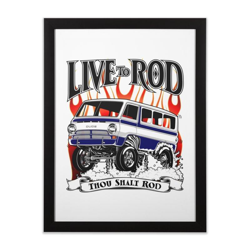 69' Dodge Gasser van, clean black   by screamnjimmy's Artist Shop