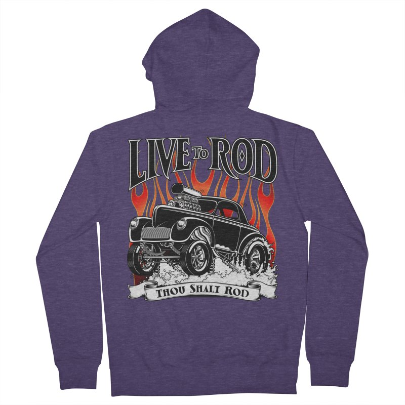 41 Willys Gasser – clean black   by screamnjimmy's Artist Shop