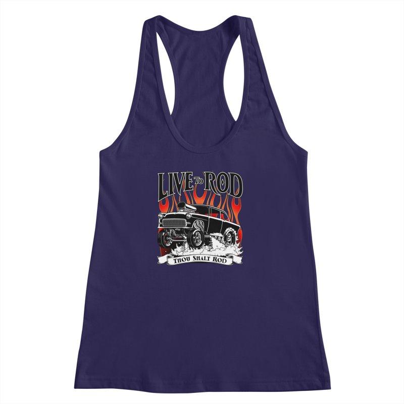 55 Chevy Gasser #2, Clean Black   by screamnjimmy's Artist Shop