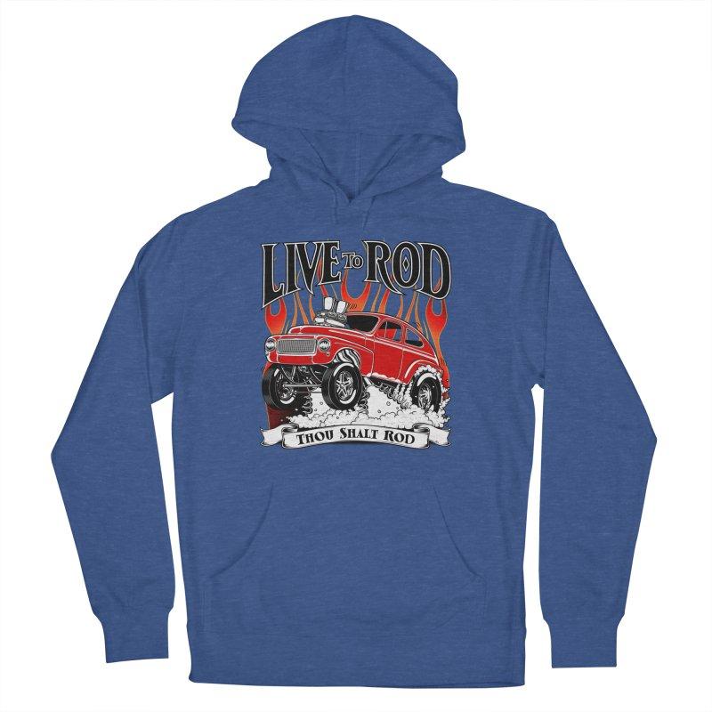 62 Volvo Gasser PV544 – clean red Men's Pullover Hoody by screamnjimmy's Artist Shop