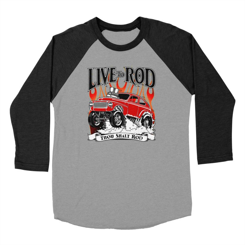 62 Volvo Gasser PV544 – clean red Women's Baseball Triblend Longsleeve T-Shirt by screamnjimmy's Artist Shop