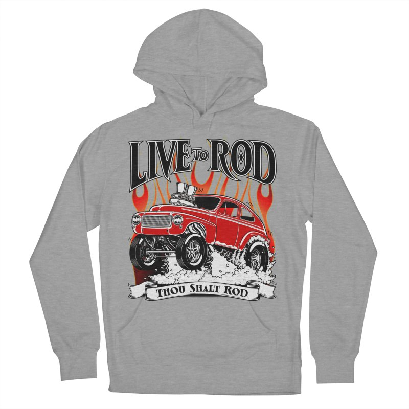 62 Volvo Gasser PV544 – clean red Women's French Terry Pullover Hoody by screamnjimmy's Artist Shop
