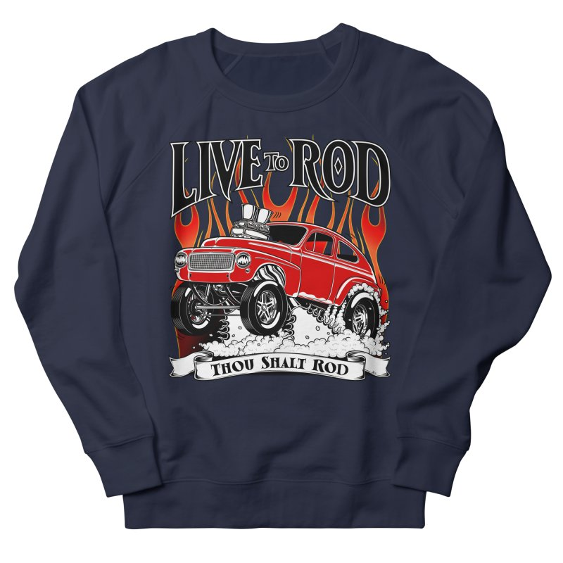 62 Volvo Gasser PV544 – clean red Women's Sweatshirt by screamnjimmy's Artist Shop