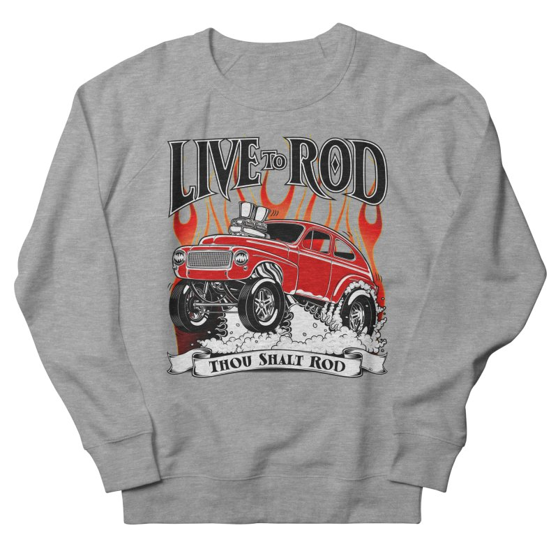 62 Volvo Gasser PV544 – clean red Men's Sweatshirt by screamnjimmy's Artist Shop