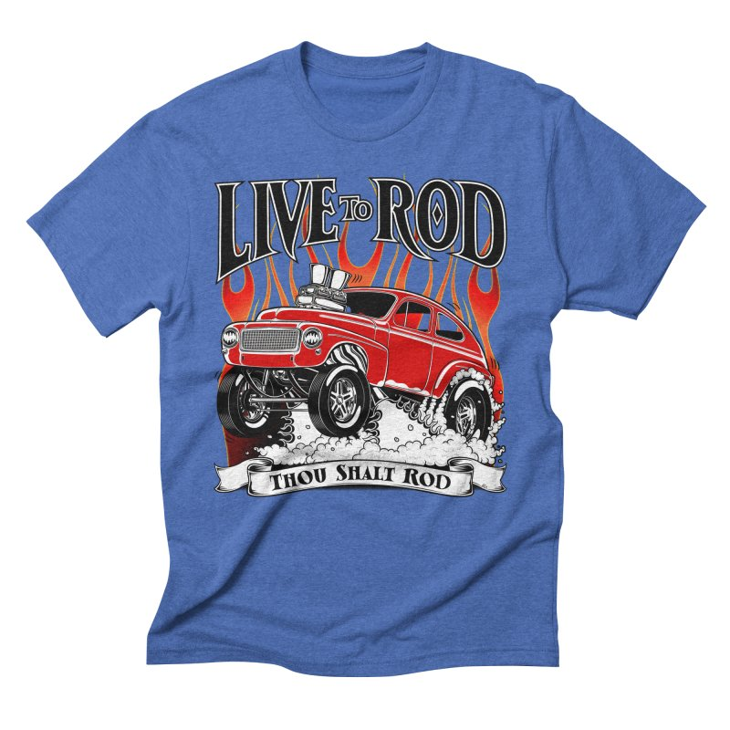 62 Volvo Gasser PV544 – clean red Men's T-Shirt by screamnjimmy's Artist Shop