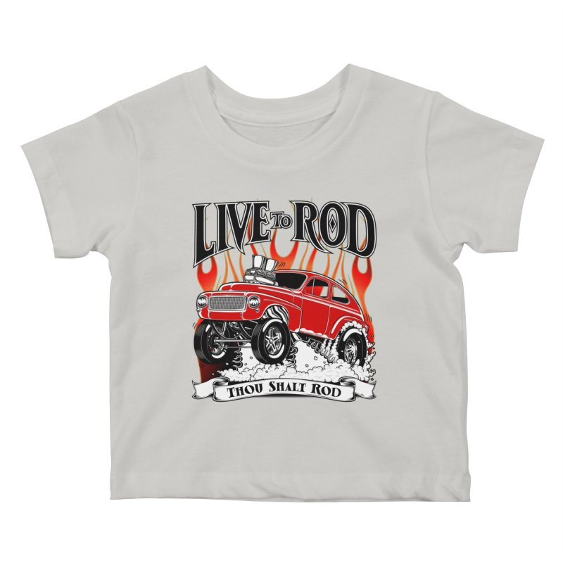 62 Volvo Gasser PV544 – clean red Kids Baby T-Shirt by screamnjimmy's Artist Shop