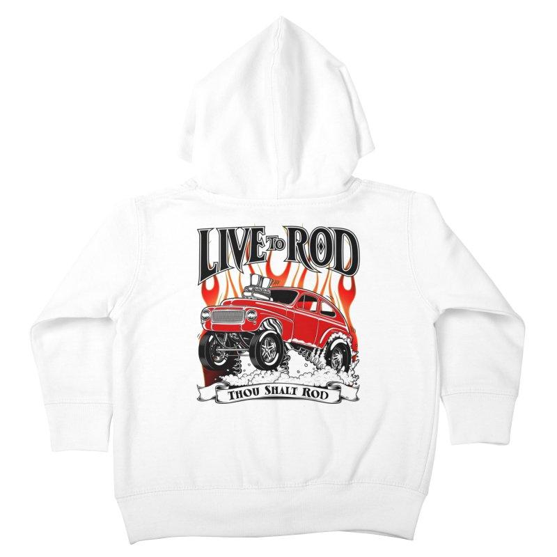 62 Volvo Gasser PV544 – clean red Kids Toddler Zip-Up Hoody by screamnjimmy's Artist Shop