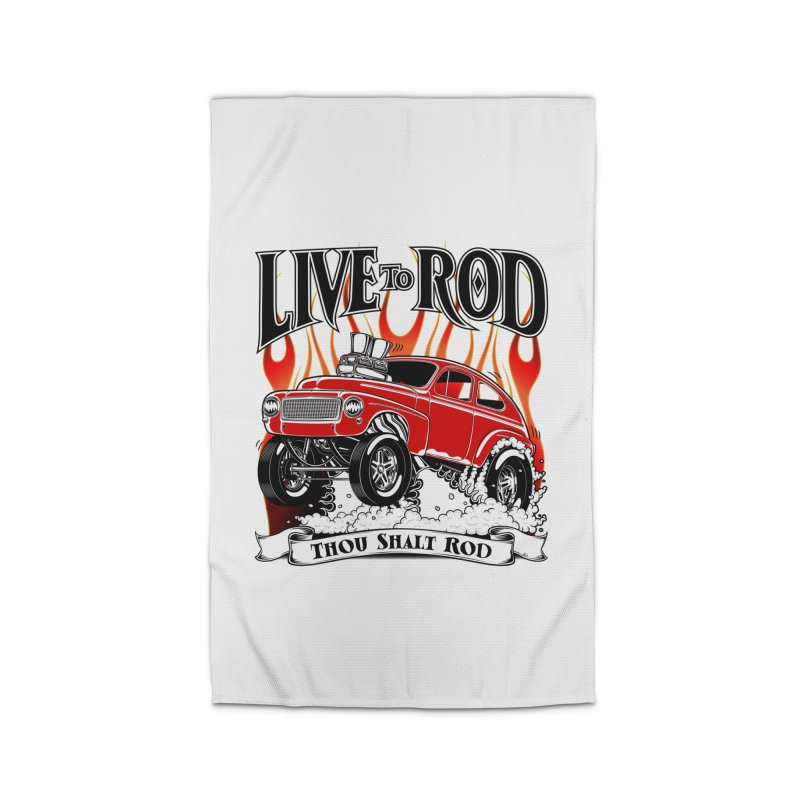 62 Volvo Gasser PV544 – clean red Home Rug by screamnjimmy's Artist Shop