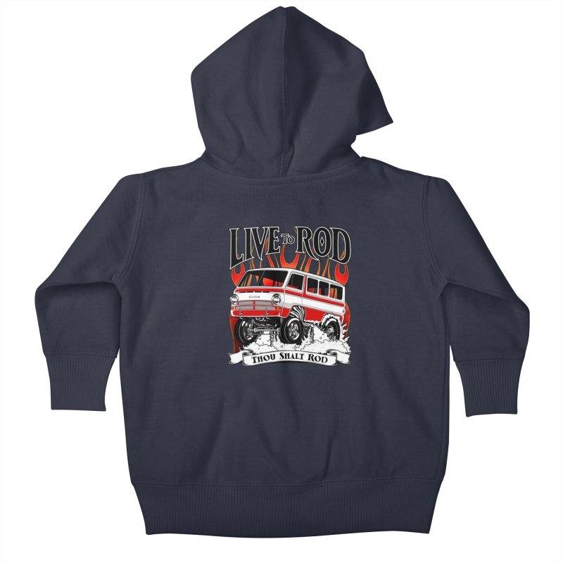 69' Dodge Gasser van, clean red   by screamnjimmy's Artist Shop