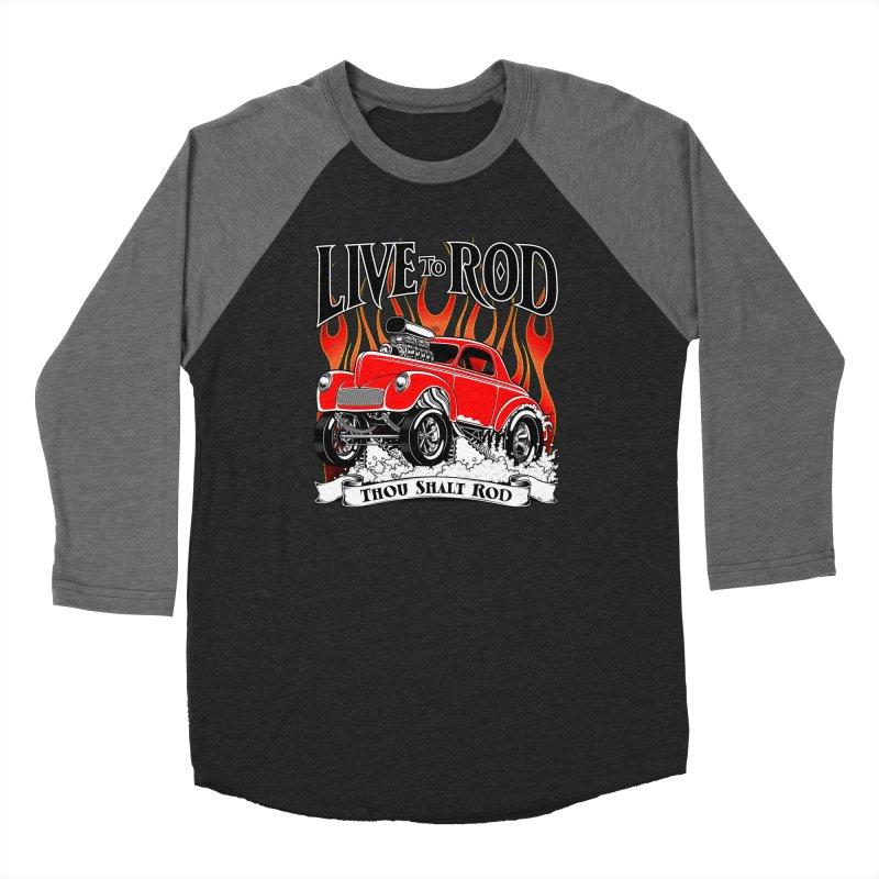 41 Willys Gasser – clean red Women's Longsleeve T-Shirt by screamnjimmy's Artist Shop