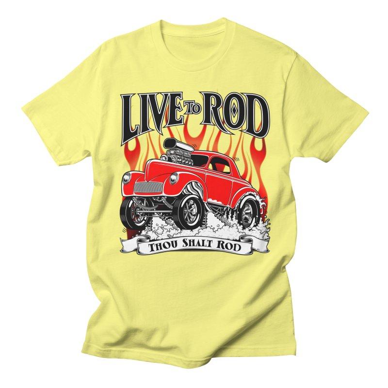 41 Willys Gasser – clean red Women's Regular Unisex T-Shirt by screamnjimmy's Artist Shop