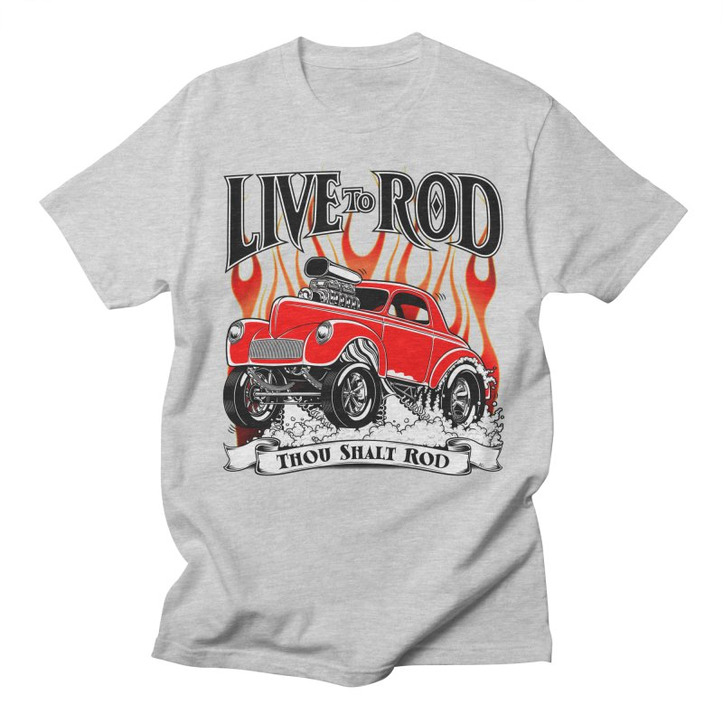 41 Willys Gasser – clean red Men's Regular T-Shirt by screamnjimmy's Artist Shop