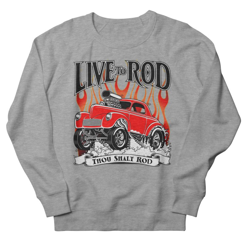 41 Willys Gasser – clean red Women's Sweatshirt by screamnjimmy's Artist Shop