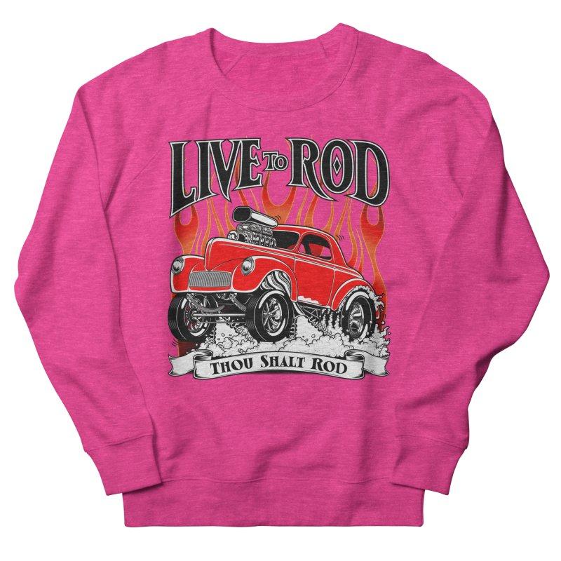 41 Willys Gasser – clean red Women's Sweatshirt by screamnjimmy's Artist Shop