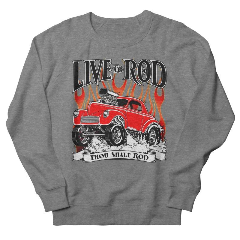 41 Willys Gasser – clean red Men's Sweatshirt by screamnjimmy's Artist Shop
