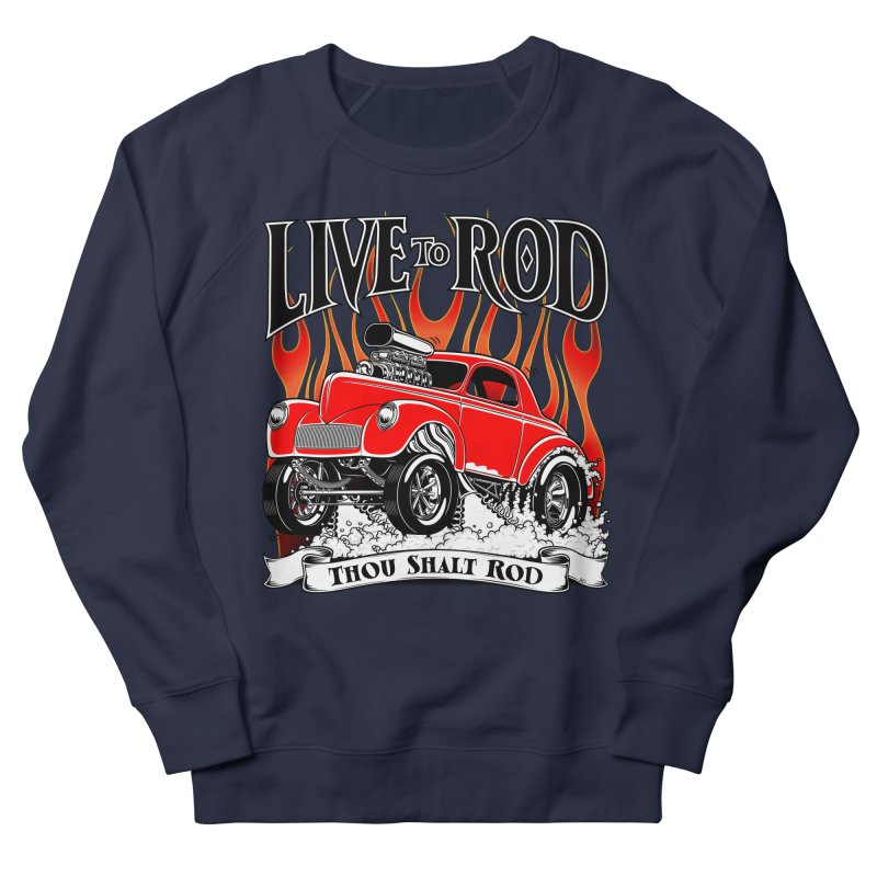 41 Willys Gasser – clean red Men's Sweatshirt by screamnjimmy's Artist Shop