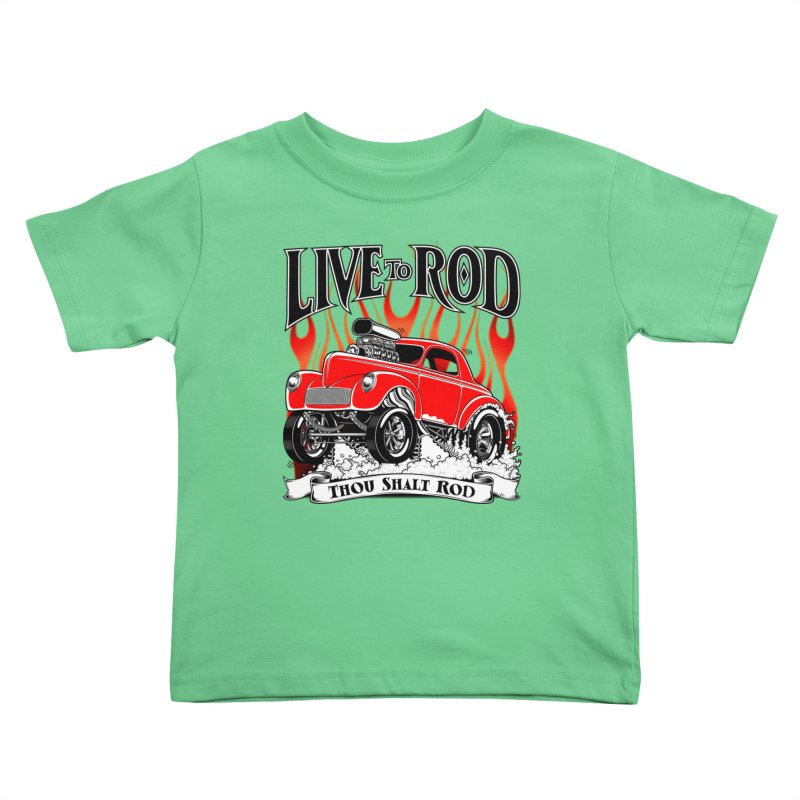 41 Willys Gasser – clean red Kids Toddler T-Shirt by screamnjimmy's Artist Shop