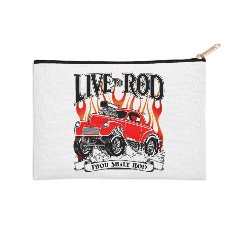 41 Willys Gasser – clean red Accessories Zip Pouch by screamnjimmy's Artist Shop