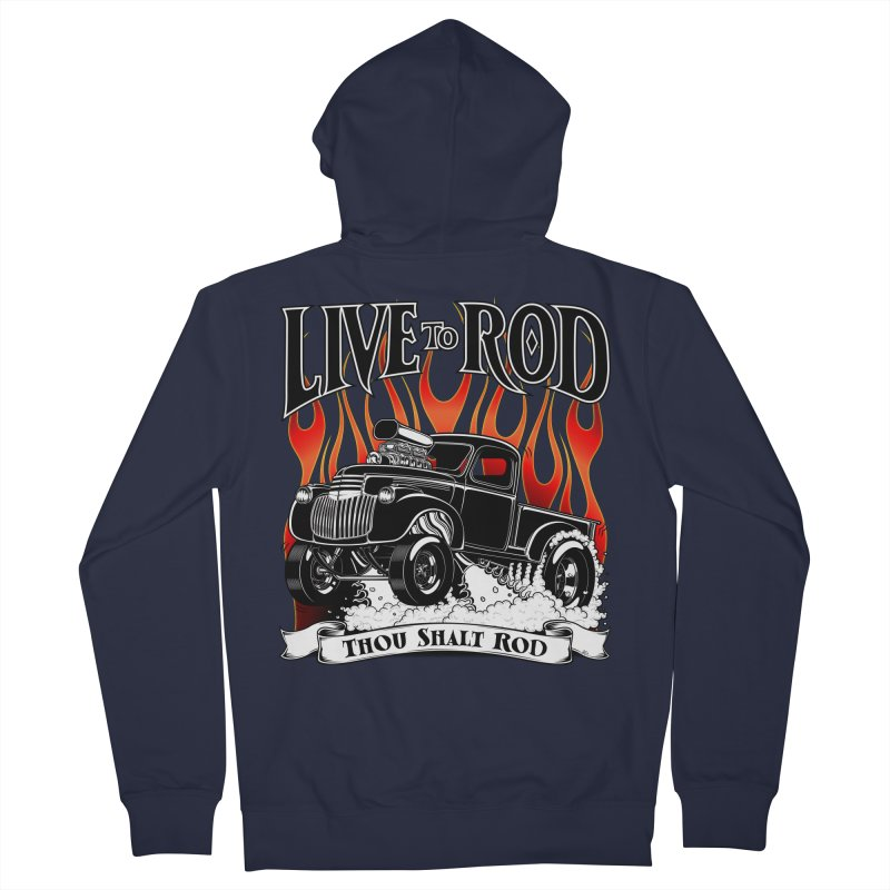 46' Chevy Gasser Pickup - Black   by screamnjimmy's Artist Shop