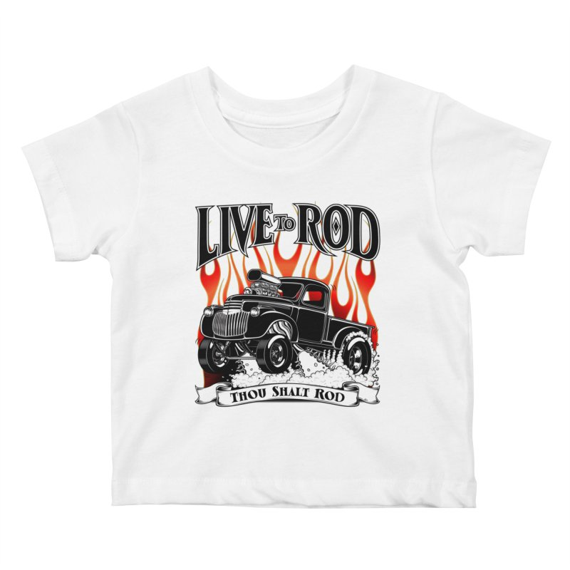 46' Chevy Gasser Pickup - Black   by screamnjimmy's Artist Shop