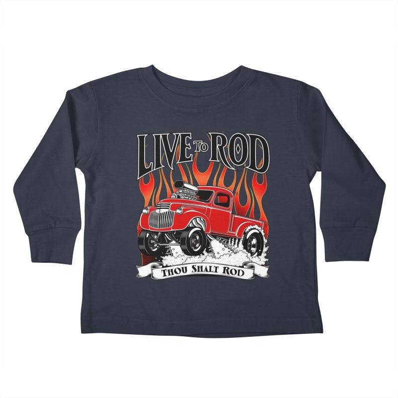 46' Chevy Gasser Pickup - RED   by screamnjimmy's Artist Shop