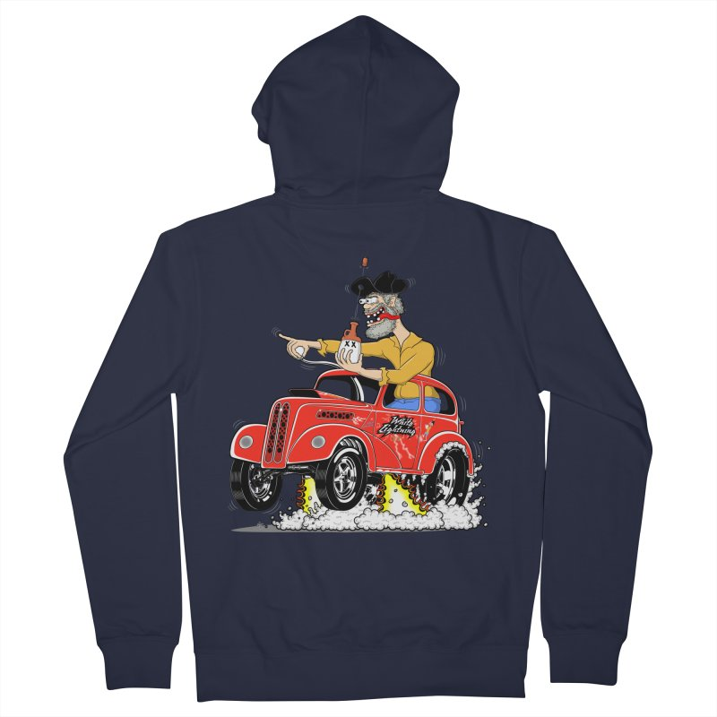 1948 Anglia for Dennis. Rev 1  Women's French Terry Zip-Up Hoody by screamnjimmy's Artist Shop
