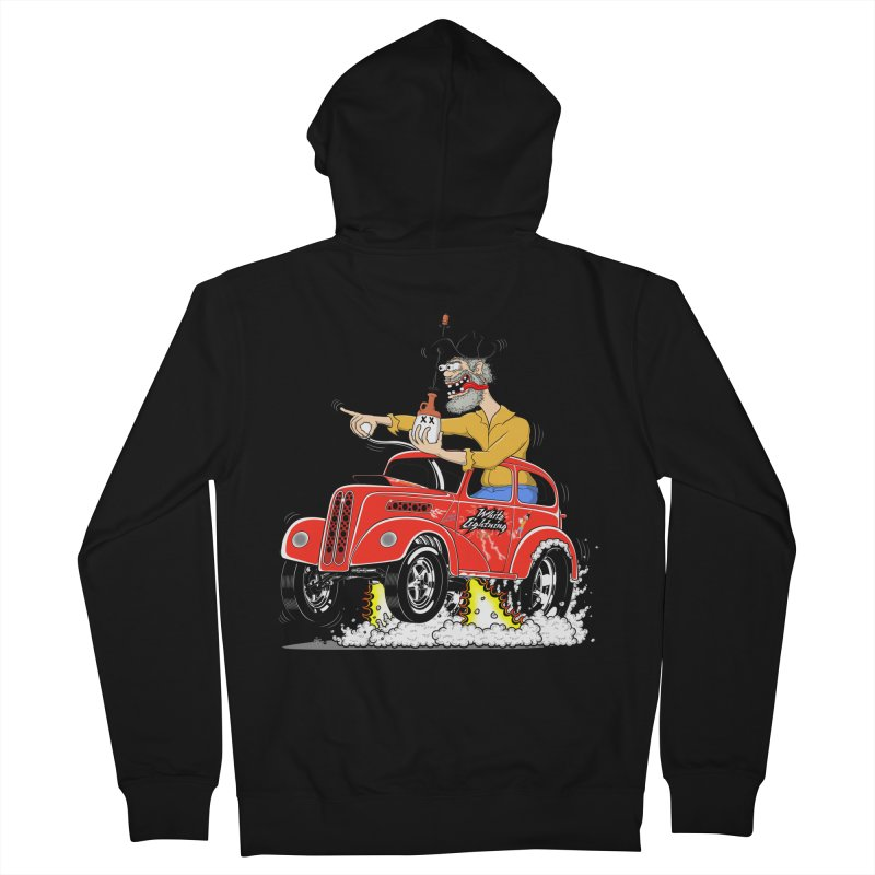 1948 Anglia for Dennis. Rev 1  Men's French Terry Zip-Up Hoody by screamnjimmy's Artist Shop