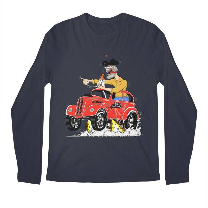 1948 Anglia for Dennis. Rev 1  Men's Regular Longsleeve T-Shirt by screamnjimmy's Artist Shop