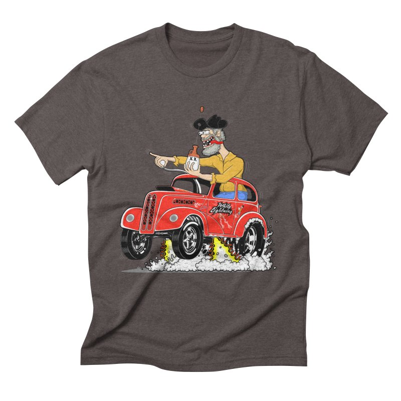 1948 Anglia for Dennis. Rev 1  Men's Triblend T-shirt by screamnjimmy's Artist Shop
