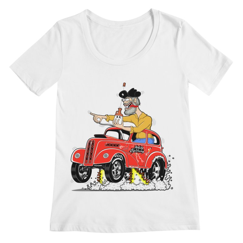 1948 Anglia for Dennis. Rev 1  Women's Regular Scoop Neck by screamnjimmy's Artist Shop