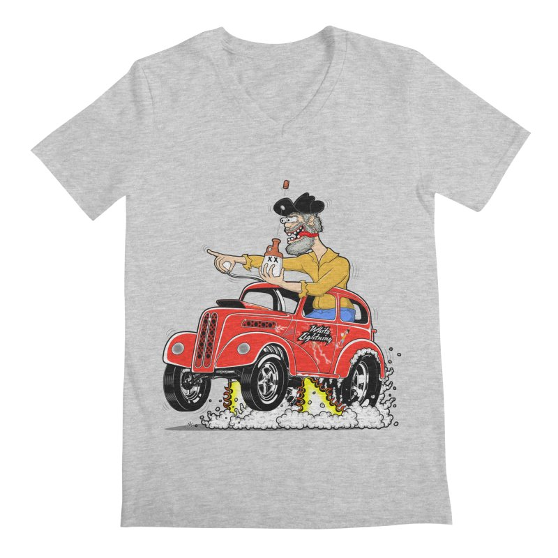 1948 Anglia for Dennis. Rev 1  Men's Regular V-Neck by screamnjimmy's Artist Shop