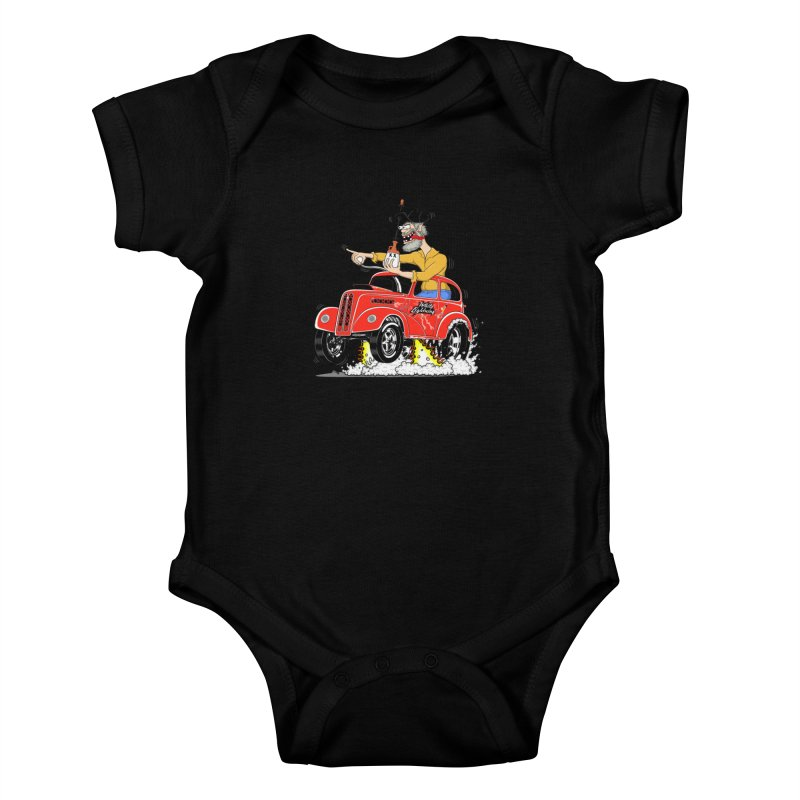 1948 Anglia for Dennis. Rev 1  Kids Baby Bodysuit by screamnjimmy's Artist Shop