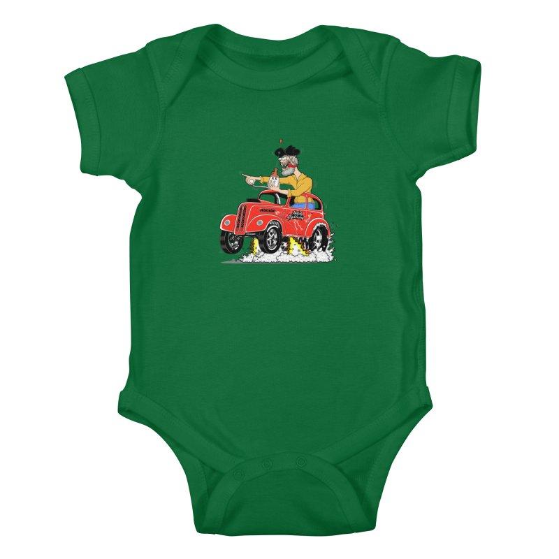 1948 Anglia for Dennis. Rev 1  Kids Baby Bodysuit by screamnjimmy's Artist Shop