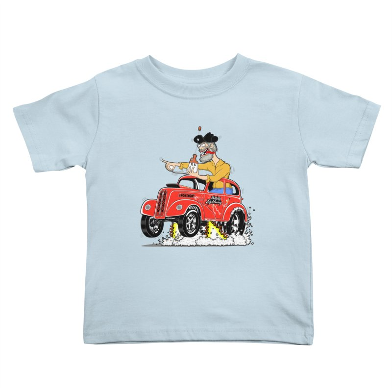 1948 Anglia for Dennis. Rev 1  Kids Toddler T-Shirt by screamnjimmy's Artist Shop