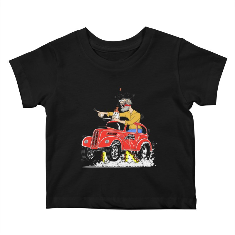 1948 Anglia for Dennis. Rev 1  Kids Baby T-Shirt by screamnjimmy's Artist Shop
