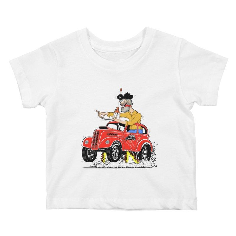 1948 Anglia for Dennis. Rev 1  Kids Baby T-Shirt by screamnjimmy's Artist Shop