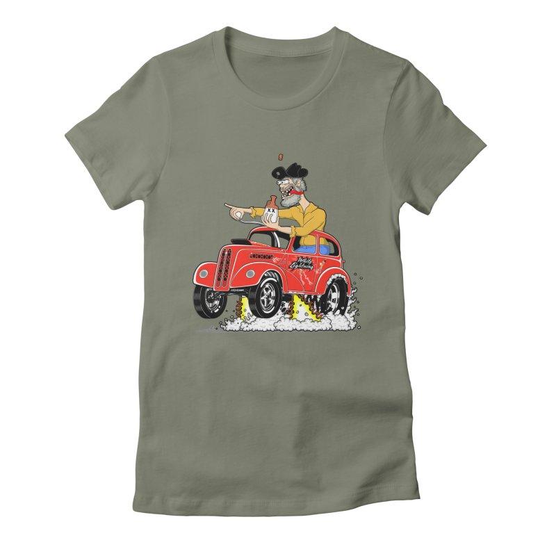 1948 Anglia for Dennis. Rev 1  Women's T-Shirt by screamnjimmy's Artist Shop