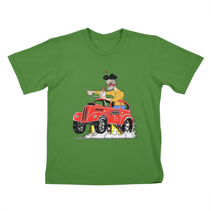 1948 Anglia for Dennis. Rev 1  Kids T-shirt by screamnjimmy's Artist Shop