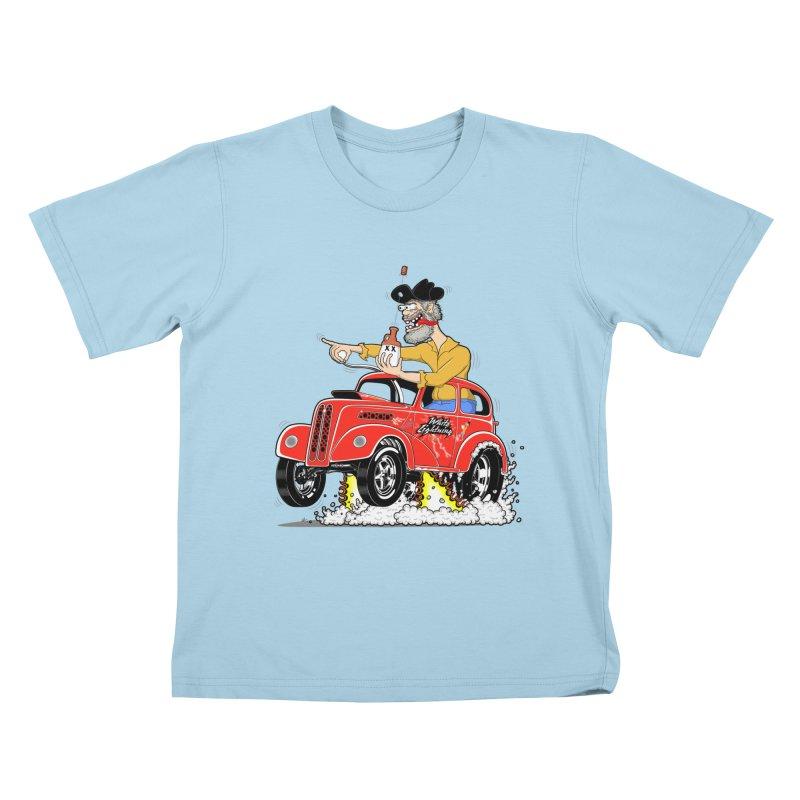 1948 Anglia for Dennis. Rev 1  Kids T-Shirt by screamnjimmy's Artist Shop