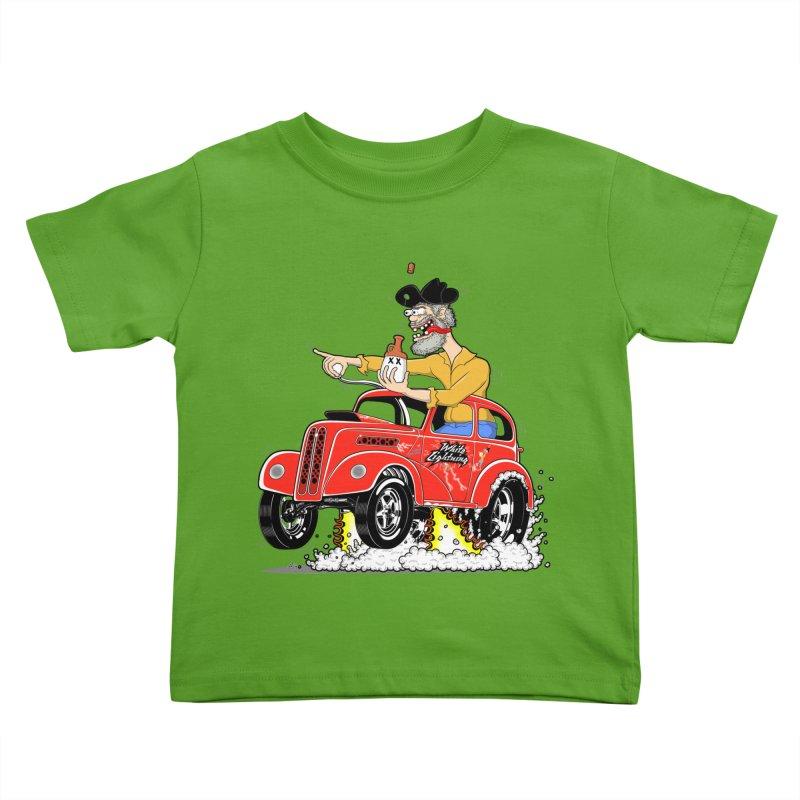 1948 Anglia for Dennis. Rev 1  Kids Toddler T-Shirt by screamnjimmy's Artist Shop