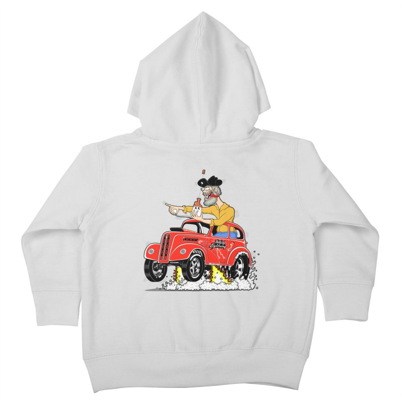 1948 Anglia for Dennis. Rev 1  Kids Toddler Zip-Up Hoody by screamnjimmy's Artist Shop