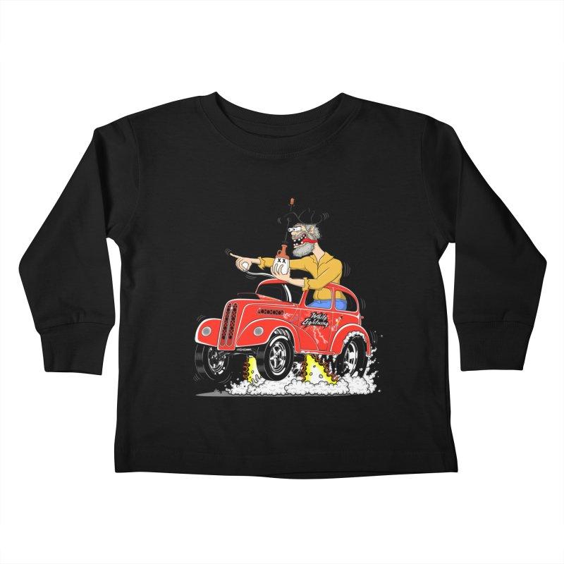 1948 Anglia for Dennis. Rev 1  Kids Toddler Longsleeve T-Shirt by screamnjimmy's Artist Shop