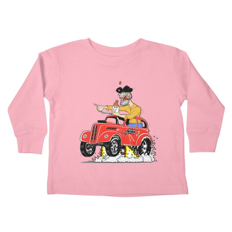 1948 Anglia for Dennis. Rev 1  Kids Toddler Longsleeve T-Shirt by screamnjimmy's Artist Shop