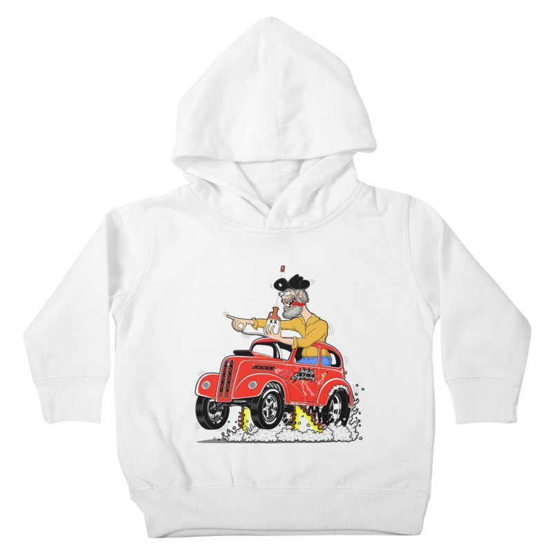 1948 Anglia for Dennis. Rev 1  Kids Toddler Pullover Hoody by screamnjimmy's Artist Shop