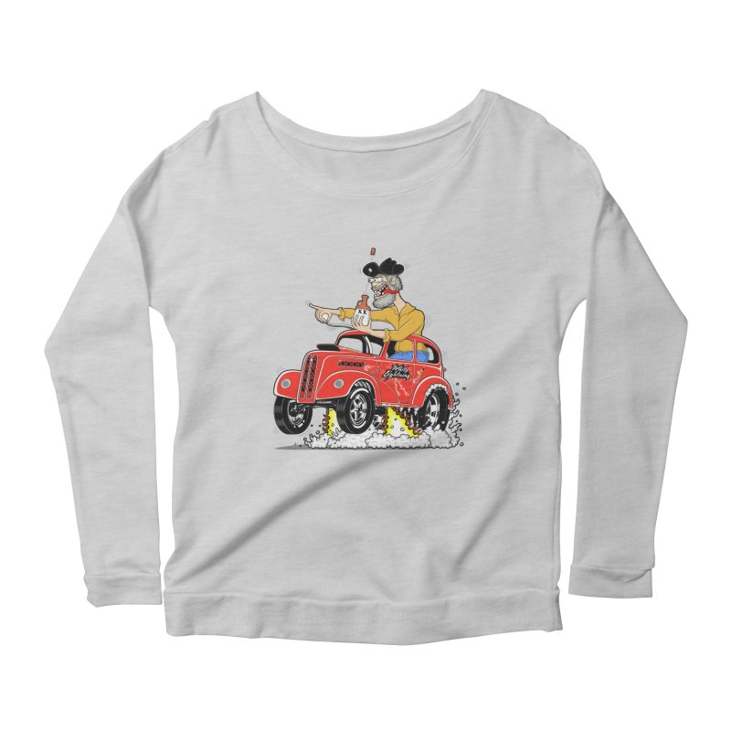 1948 Anglia for Dennis. Rev 1  Women's Scoop Neck Longsleeve T-Shirt by screamnjimmy's Artist Shop