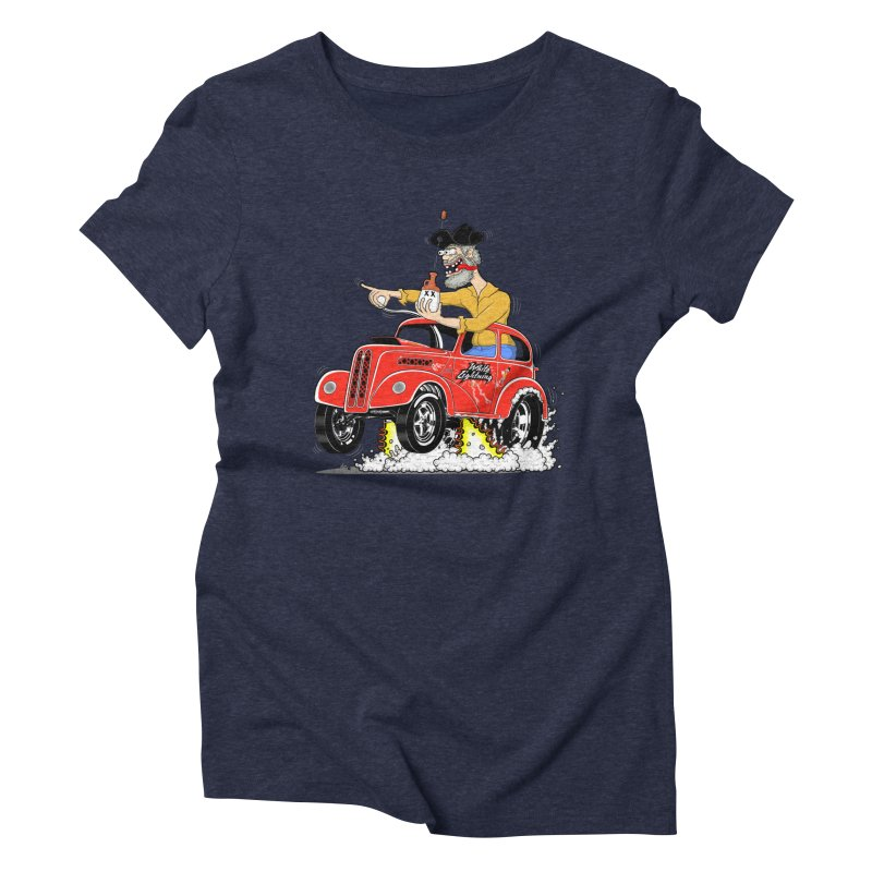 1948 Anglia for Dennis. Rev 1  Women's Triblend T-shirt by screamnjimmy's Artist Shop