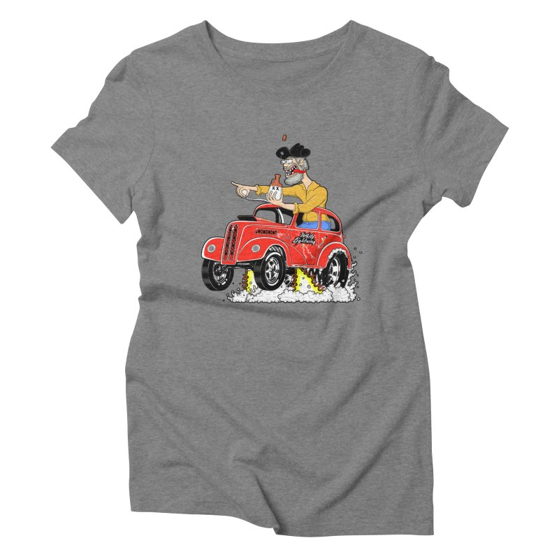 1948 Anglia for Dennis. Rev 1  Women's Triblend T-Shirt by screamnjimmy's Artist Shop
