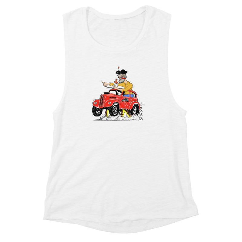 1948 Anglia for Dennis. Rev 1  Women's Muscle Tank by screamnjimmy's Artist Shop